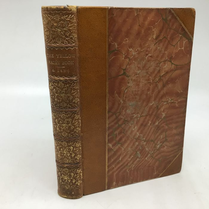 Andrew Lang - The Yellow Fairy Book (in fine binding) - 1894