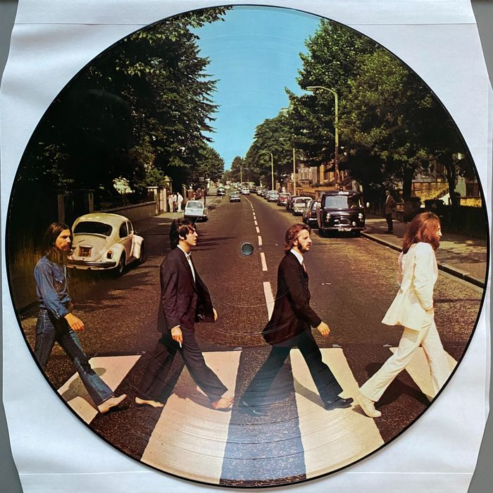 Beatles - Abbey Road - Limited Picture Disk - 1978