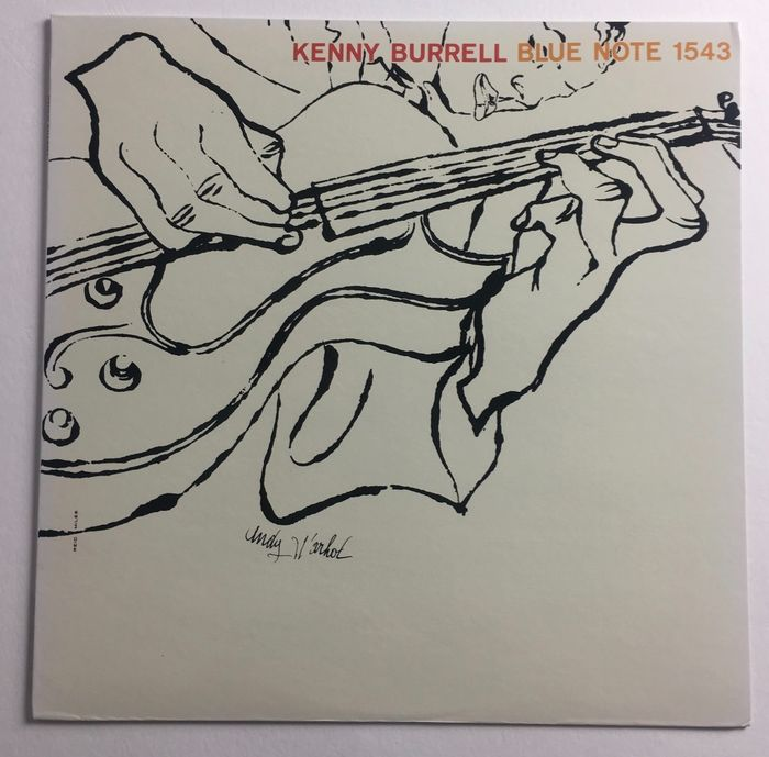 Andy Warhol &  Kenny Burrell - Blue Note 1543 [Japanese Reissue] - LP album - 1984