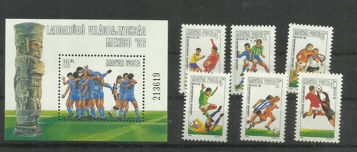 Hongrie 1924/1987 - lot of Blocks different 45 pieces and serie -MNH/**