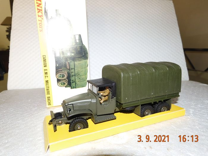 Dinky Toys - 1:43 - Camion G.M.C. Militaire - Meccano France - 809