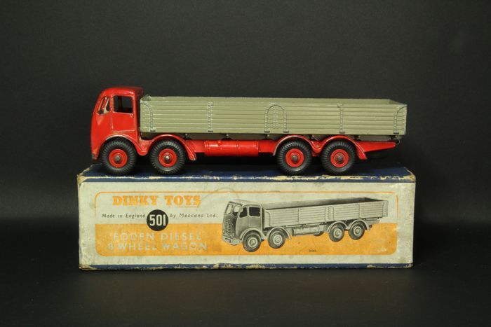Dinky Toys - 1:43 - Foden diesel 8-Weel Wagon - Dinky toys 501