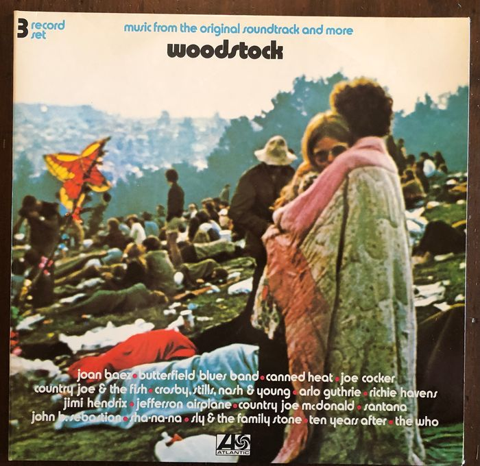 """Woodstock & Related - """" music from the original soundtrack and more"""" - 3xLP Album (Triple album) - 1973/1973"""