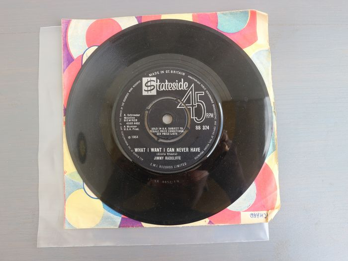 Jimmy Cliff - Long After Tonight Is All Over/ What I Want I Can Never Have - 45 rpm Single - 1965