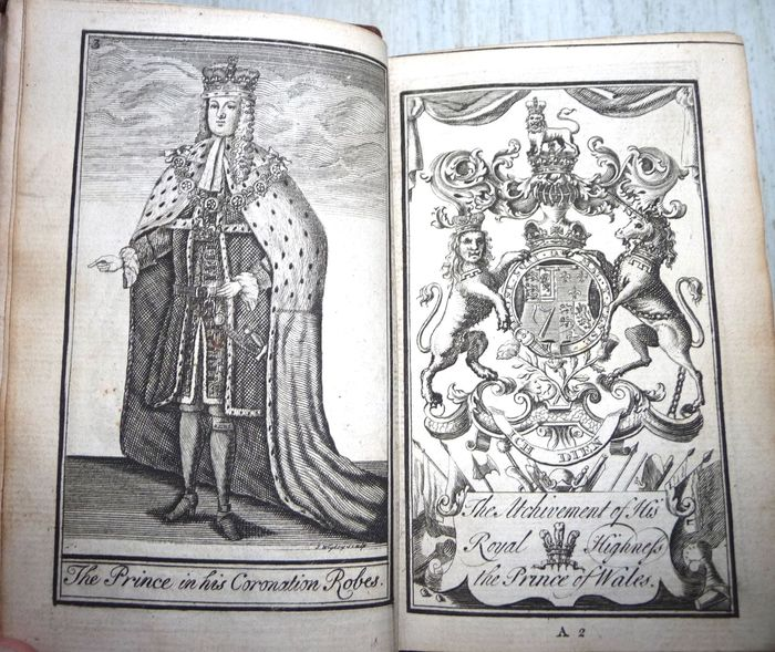 Francis Nichols - The British compendium : containing the descents, titles, of all the nobility of England - 1726