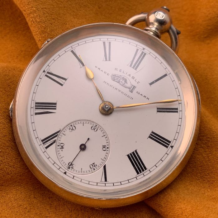 Reliable Trademark Registered - English Fusee Pocket watch - Heren - 1892