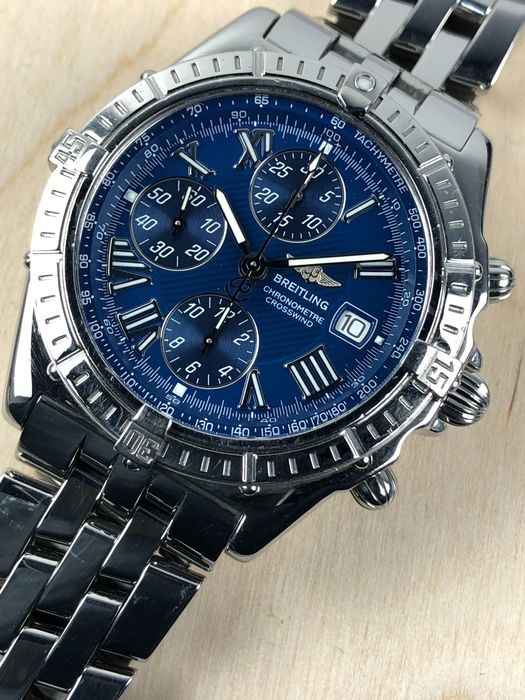 Breitling - Crosswind Racing Chronograph Automatic - A13355 - Heren - 2000-2010