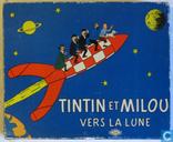 Tintin et Milou vers la lune