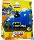 Superfriends Shake 'n Go Racers - Batcycle