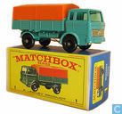 Modelauto's  - Matchbox - Mercedes Covered Truck