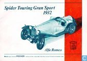 Pocher Alfa Romeo Spider Touring Gran Sport 1932