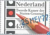Postage Stamps - Netherlands [NLD] - Elections - 2nd Chamber 'Overprint'