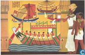 Het vertrek van de vloot van Necho II