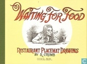 Comic Books - Waiting for food - Restaurant Placemat Drawings