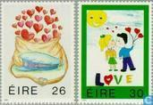 1991 LOVE Briefmarken (IER 274)