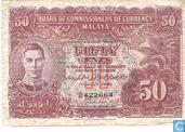 Malaya 50 Cents