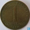 Autriche 1 Schilling 1977