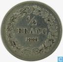 Belgium ½ franc 1835