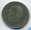 Coins - Germany - Germany 2 mark 1987 F (Konrad Adenauer)
