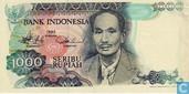 Indonesia 1,000 Rupiah 1980