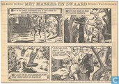 Comic Books - Red Knight, The [Vandersteen] - Met masker en zwaard