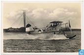 Fokker C-11- W tweepersoon zeeverkenner op drijvers (Catapultvliegtuig)