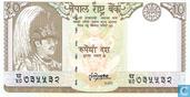 Népal 10 roupies