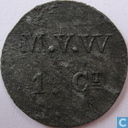 1 cent 1841-1859 Rijksgesticht Veenhuizen V2