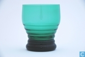 3185 met ringen Waterglas Groen 190 ml 82 mm