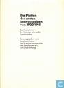 Die Platten der ersten Saarausgaben von 1920/1921