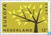 Postage Stamps - Netherlands [NLD] - Europe – Tree with 19 Leaves