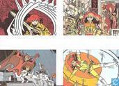 4 kaarten van Franka