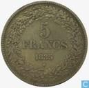 Belgique 5 francs 1835