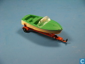 Healey Sportsboat on trailer