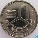 Monnaies - Belgique - Belgique 1 franc 1989 (NLD)