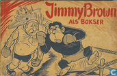 Comics - Jimmy Brown - Jimmy Brown als bokser