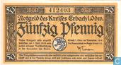 Erbach i/o. 50 Pfennig 1918