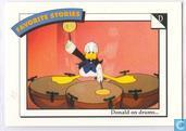 Donald on drums... / Bird's - eye view...