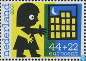 Children stamps-a safe home