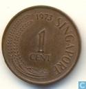 Singapour 1 cent 1973