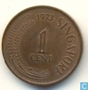 Singapore 1 cent 1973