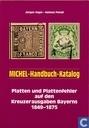 Platten und Plattenfehler auf den Kreuzerausgaben Bayerns 1849-1875