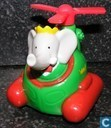 Babar in helicopter