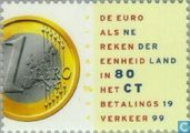 Postage Stamps - Netherlands [NLD] - The Euro