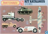 Matchbox AMT Kit Katalogus 1980/81