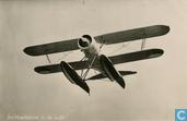 Fokker C-XI W jachtverkenner in de lucht