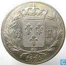 France 5 francs 1824 (I)