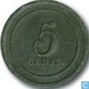 5 cent 1847 Strafgevangenis Leeuwarden
