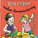 Joop en Joke maken Kerstversiering