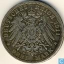 Prusse 3 mark 1911